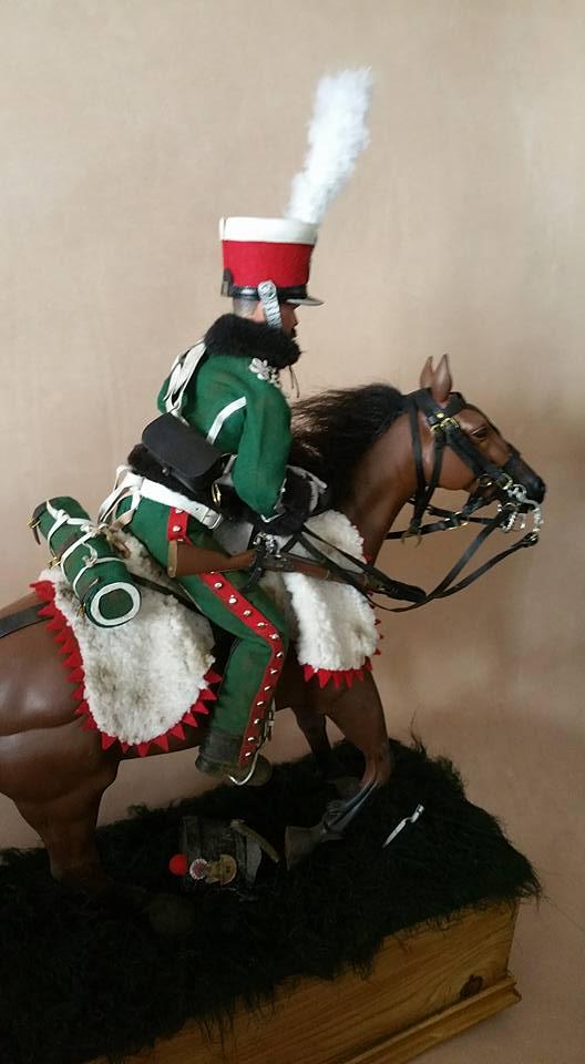 Garde d'honneur avril 1814 campagne de France  18342511