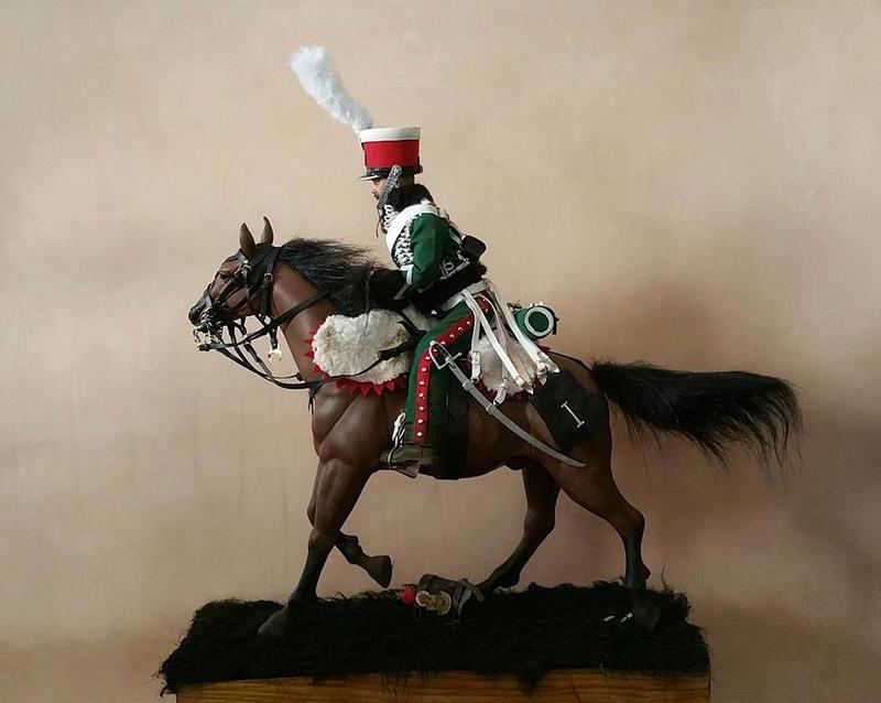 Garde d'honneur avril 1814 campagne de France  18403410