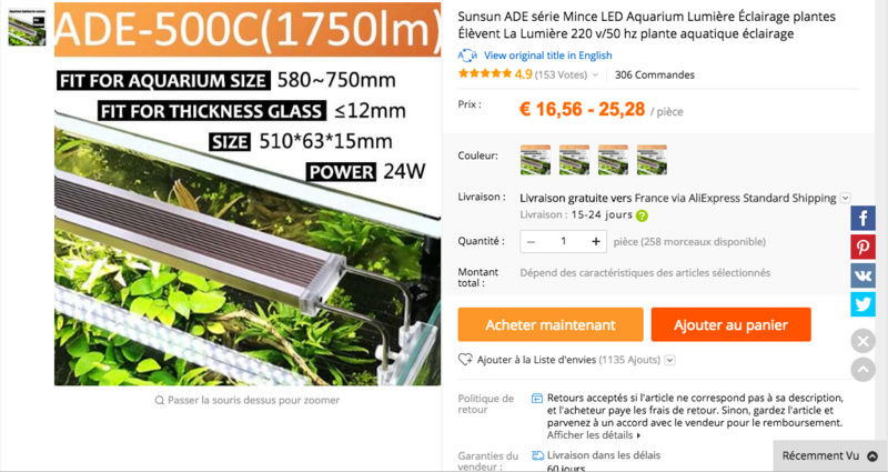Lancement aquarium 60L Captur10