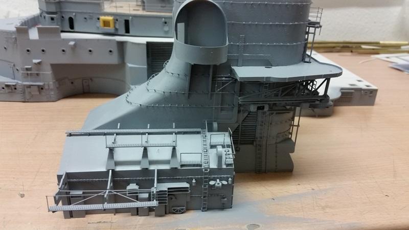 Bau der Bismarck in 1:100  - Seite 11 20170613