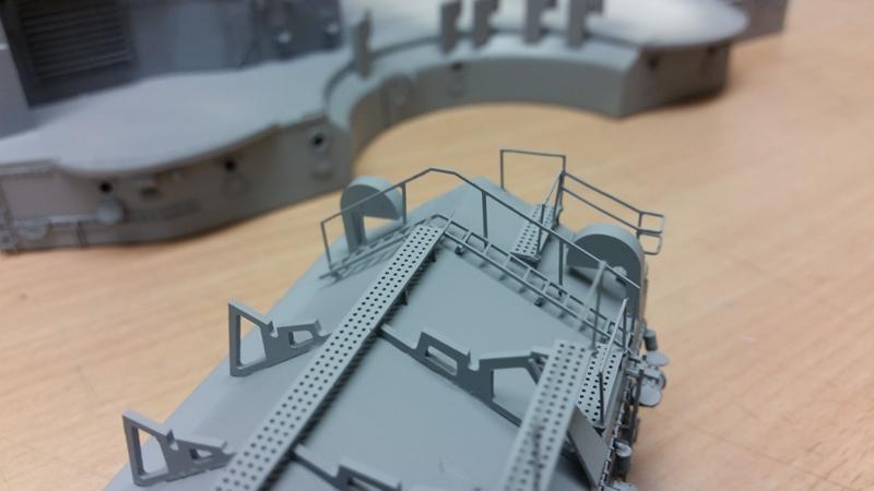 Bau der Bismarck in 1:100  - Seite 11 20170615