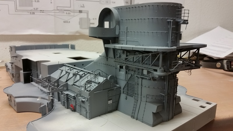 Bau der Bismarck in 1:100  - Seite 11 20170717