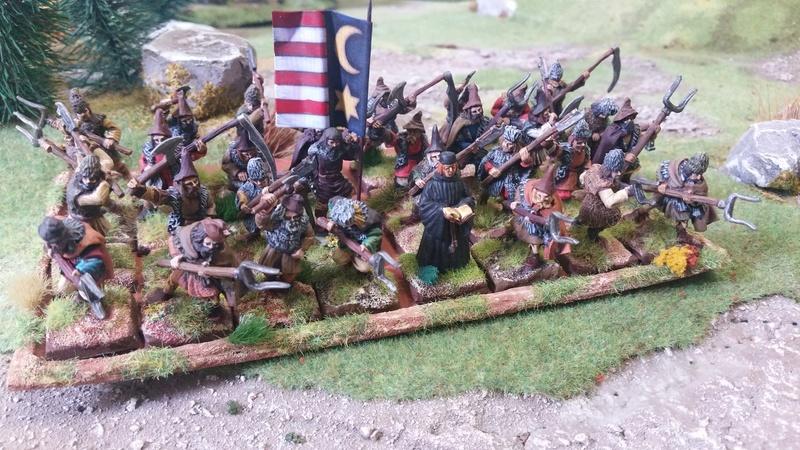 Armée Valaque XVème siècle Paysan10