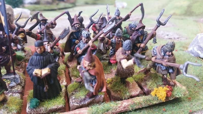 Armée Valaque XVème siècle Paysan11