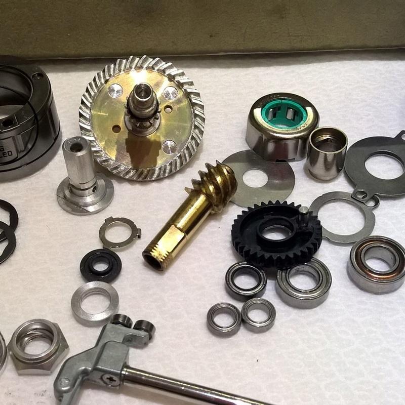 [manutenzione mulinelli] bobina fissa-rotante anche mag sealed 21761710