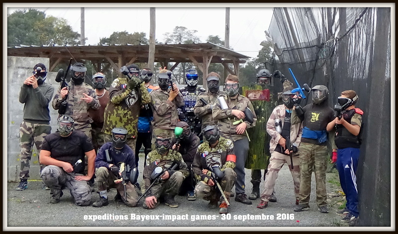 30 septembre : pelerinage sur impact games bayeux 10010