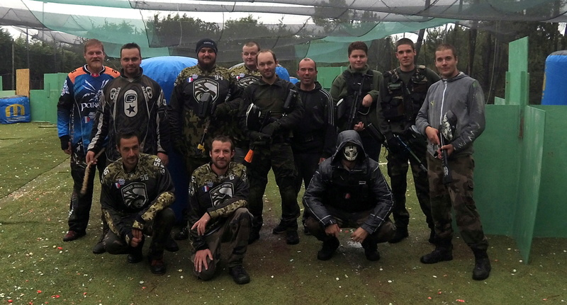 rencontre interclub bretons de paintball : paintball louargat et les paintballrangers 111