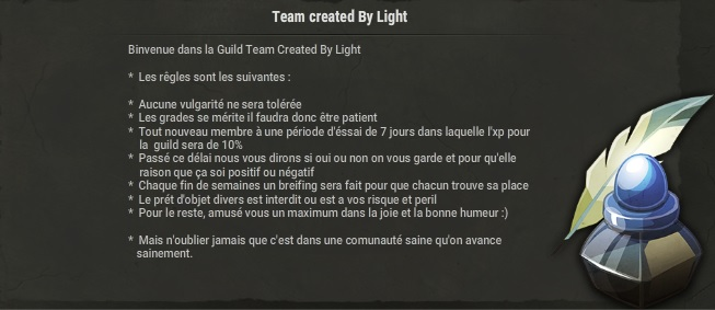 Candidature Team created By Light Guild_13
