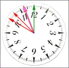 2017: le 14/07 à 23h45 - Lumière étrange dans le ciel  -  Ovnis à elven - Morbihan (dép.56) - Page 4 Cadran11