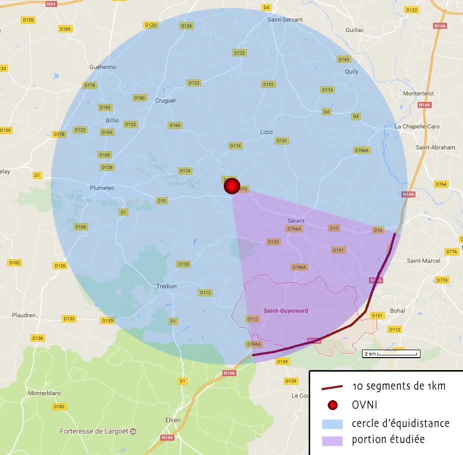 2017: le 14/07 à 23h45 - Lumière étrange dans le ciel  -  Ovnis à elven - Morbihan (dép.56) - Page 3 Rayon-10