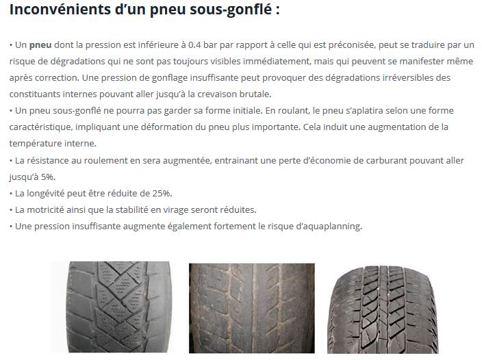 [INFOS Techniques] Usure anormale des pneus AR Pneu10