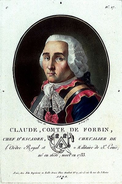 Le Chevalier de FORBIN-GARDANNE. 1656-1733 Claude10