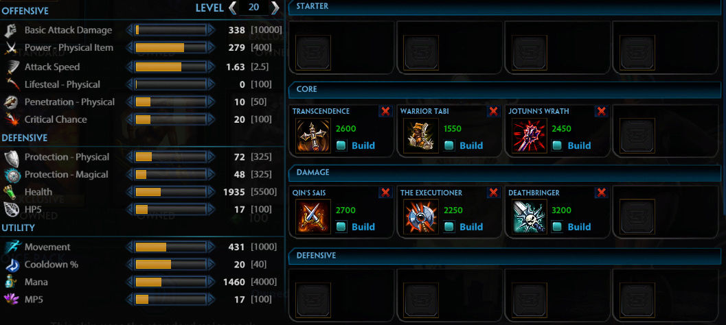 [BUILDS] Neith Neithb10