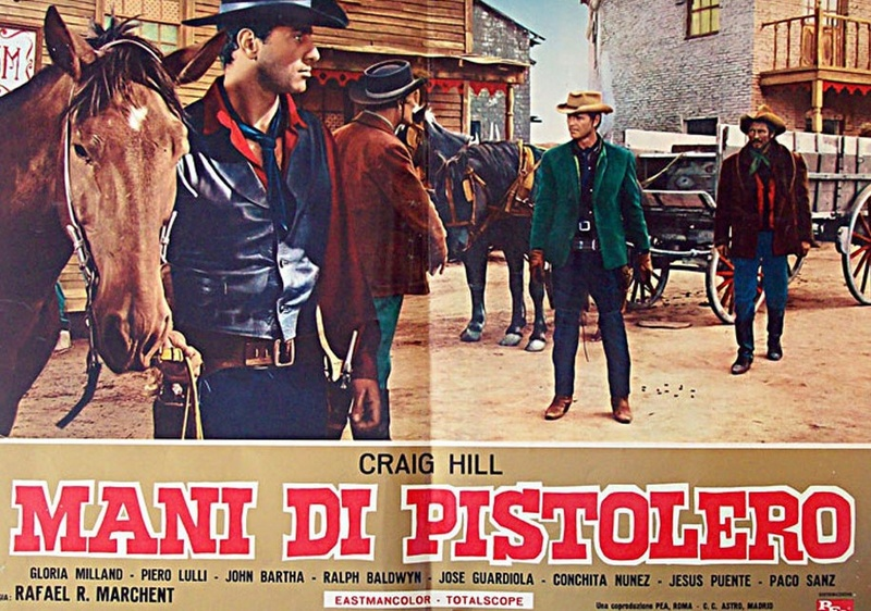 Dans les Mains du Pistolero - Ocaso de un Pistolero - Rafael Romero Marchent - 1965 12012610