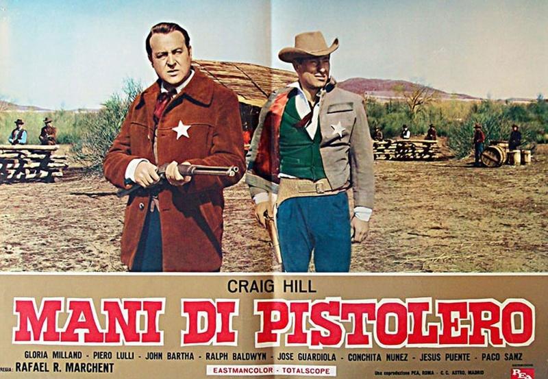 Dans les Mains du Pistolero - Ocaso de un Pistolero - Rafael Romero Marchent - 1965 12013210