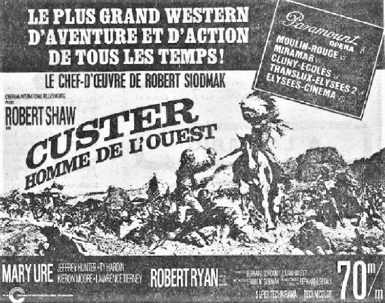 Custer, L' Homme de l' Ouest - Custer of the West - 1967 - Robert Siodmak 22042010