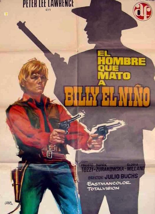 L'homme qui a tué Billy le Kid - El hombre que mató a Billy el Niño - 1967 - Julio Buchs 3521010