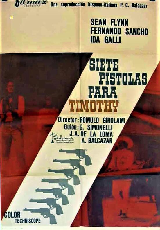 7 colts du tonnerre ( Sette magnifiche pistole ) –1966- Romolo GIROLAMI 3523710