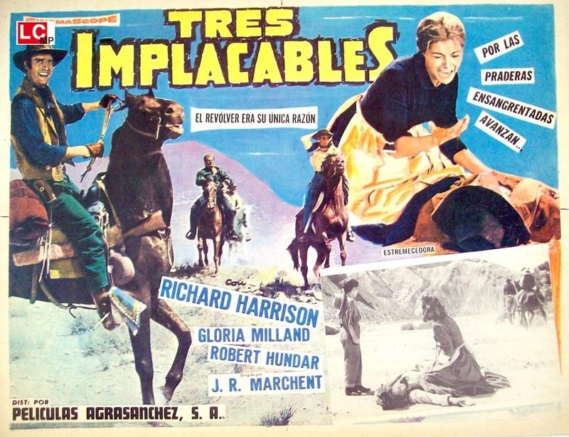Les 3 implacables ( El sabor de la venganza ) –1963- Joaquim ROMERO MARCHENT 5088310