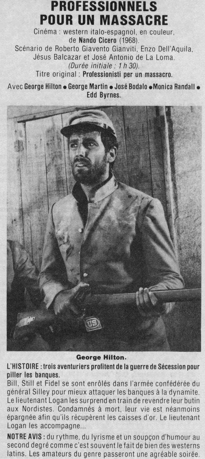 Professionnels pour un massacre - Professionisti per un Massacro - 1967 - Nando Cicero - Page 2 70cf2b12
