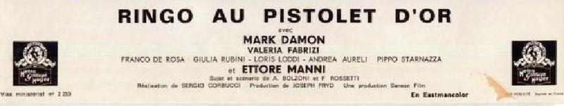 Ringo au Pistolet d'or - Johnny Oro - 1966 - Sergio Corbucci 7_thq10