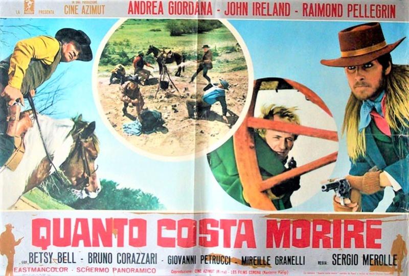 Les Colts brillent au Soleil - Quanto Costa A Morire - 1968 - Sergio Merolle - Page 2 8774910