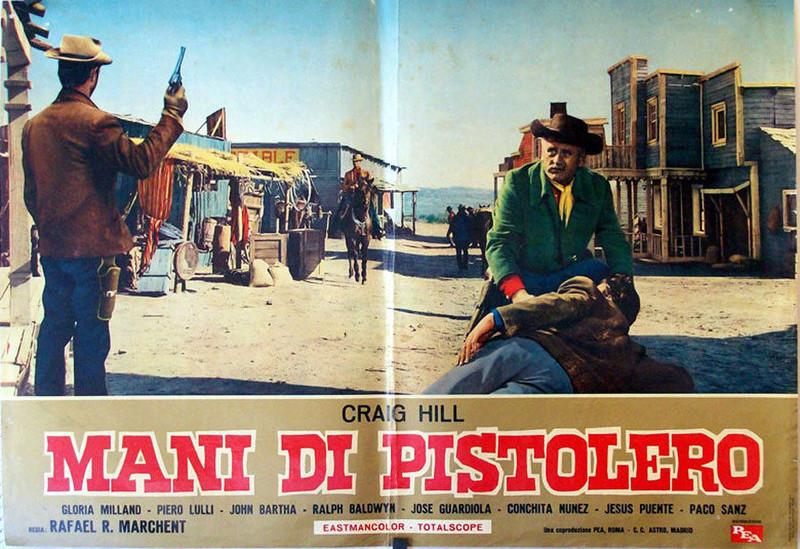 Dans les Mains du Pistolero - Ocaso de un Pistolero - Rafael Romero Marchent - 1965 _5710