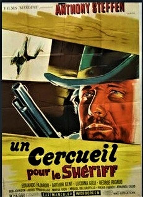 Un cercueil pour le shérif ( Una Bara per lo Sheriffo ) –1965- Mario CAÏANO Affich12