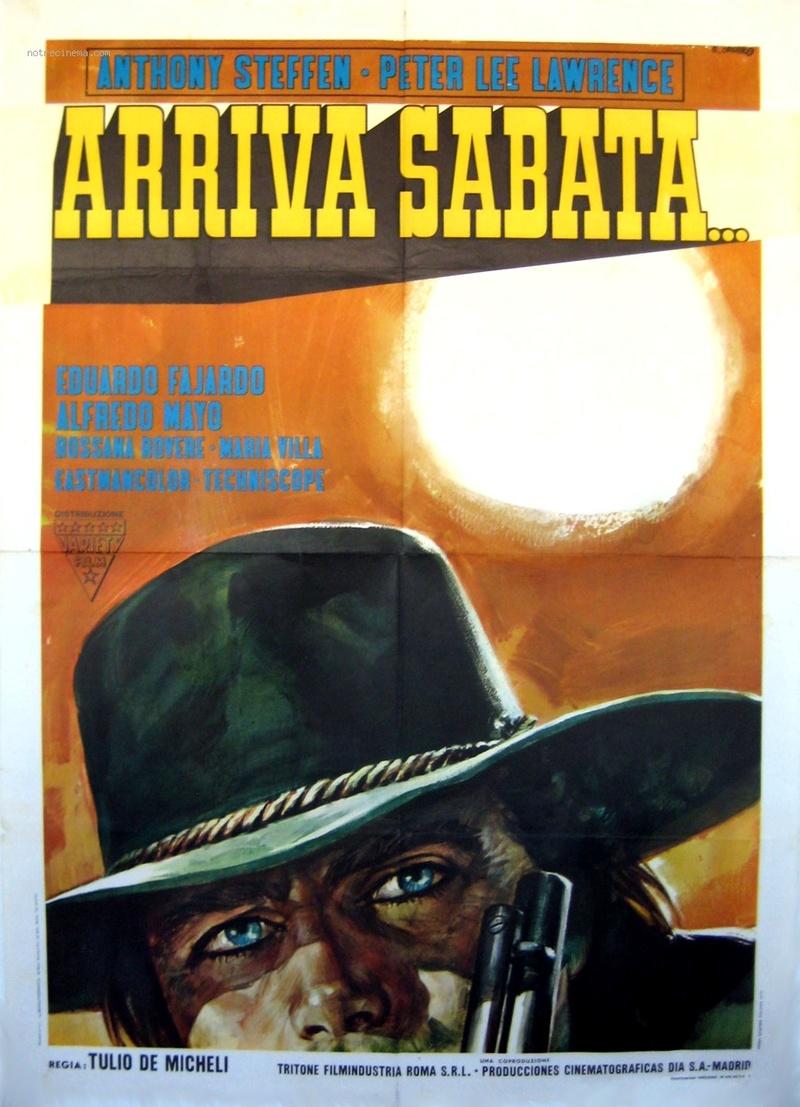 Arriva Sabata ( Reza por tu Alma … Y muere ) –1970-Tulio DEMICHELI Arriva10