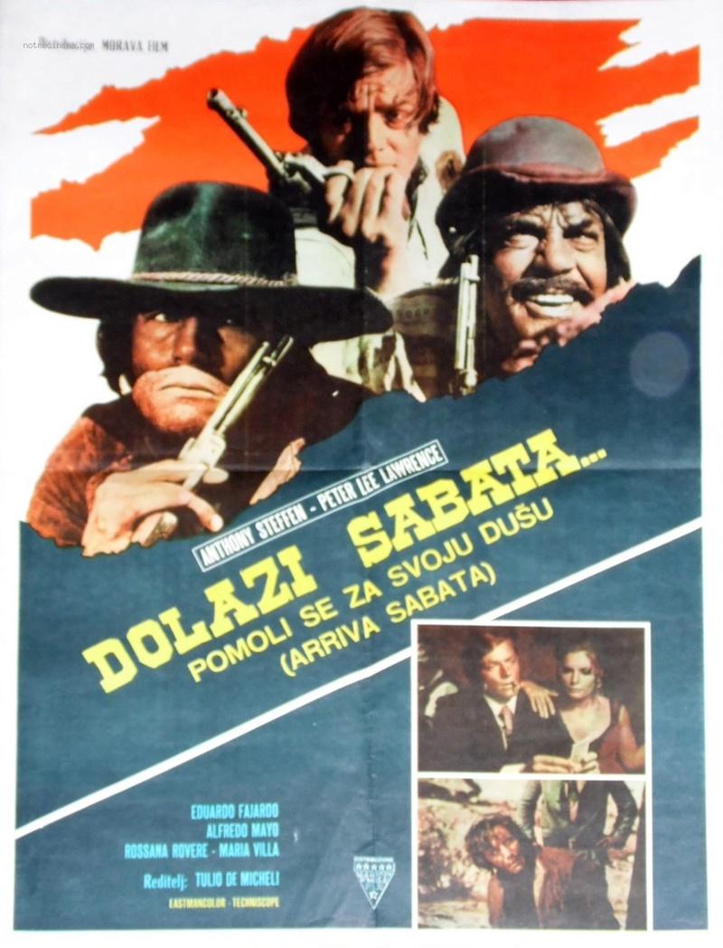 Arriva Sabata ( Reza por tu Alma … Y muere ) –1970-Tulio DEMICHELI Arriva11
