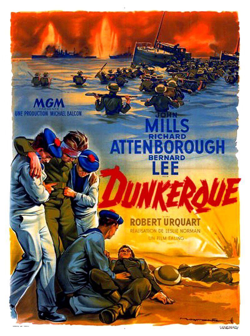Dunkerque. Dunkirk. 1958. Leslie Norman. Dunker11
