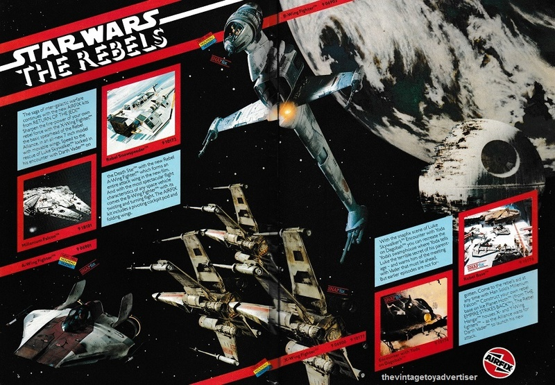 RETAIL & TRADE CATALOGUES featuring Star Wars products Airfix11