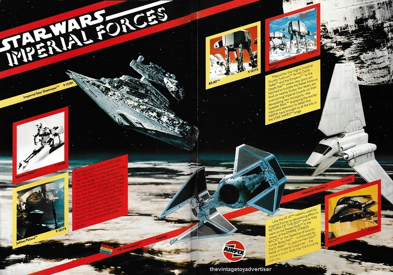 RETAIL & TRADE CATALOGUES featuring Star Wars products Airfix12