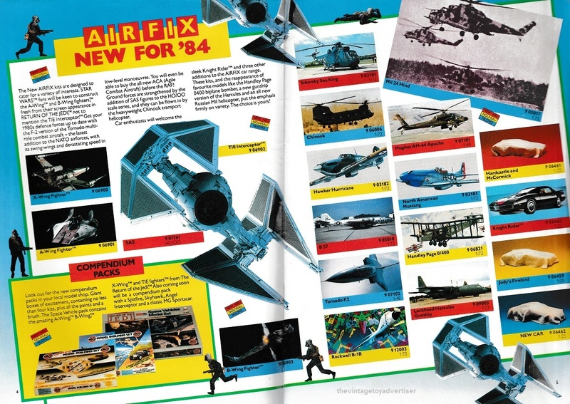 RETAIL & TRADE CATALOGUES featuring Star Wars products Airfix13
