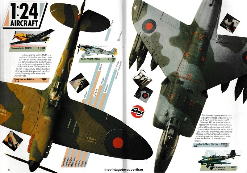 RETAIL & TRADE CATALOGUES featuring Star Wars products Airfix23