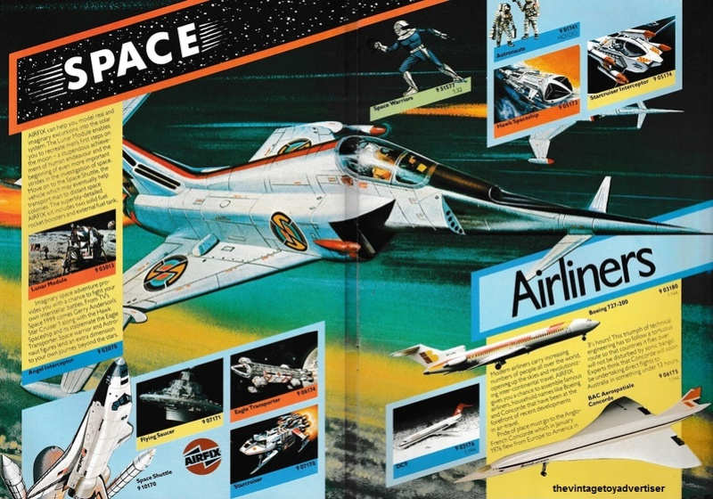 RETAIL & TRADE CATALOGUES featuring Star Wars products Airfix27