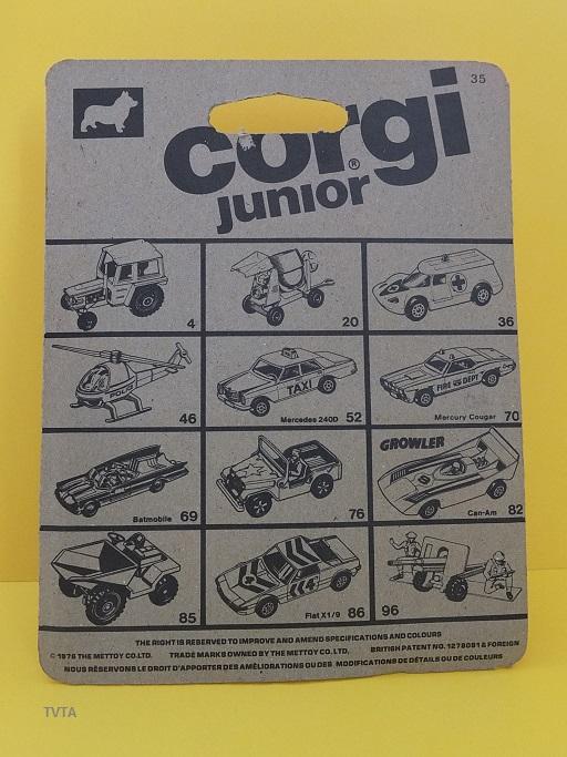 Die cast toys  Corgi_35
