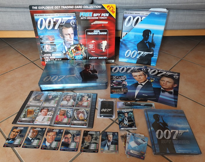 James Bond 007 Trading Card set - finally complete! James_10