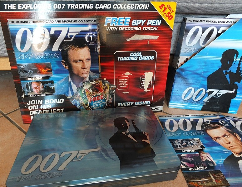 James Bond 007 Trading Card set - finally complete! James_11