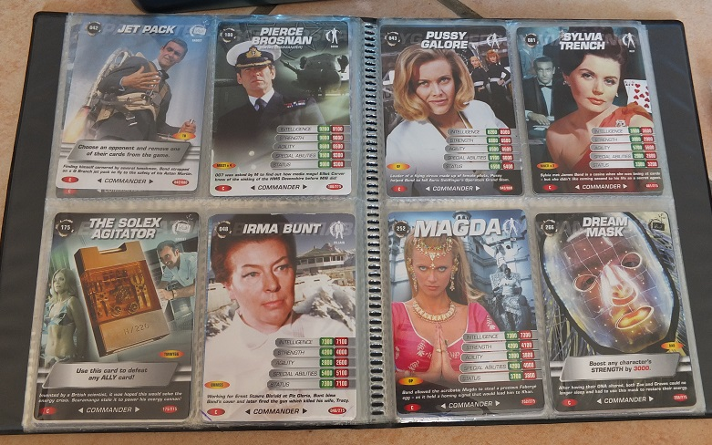 James Bond 007 Trading Card set - finally complete! James_13