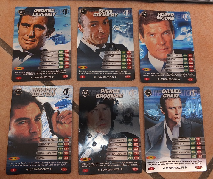 James Bond 007 Trading Card set - finally complete! James_15