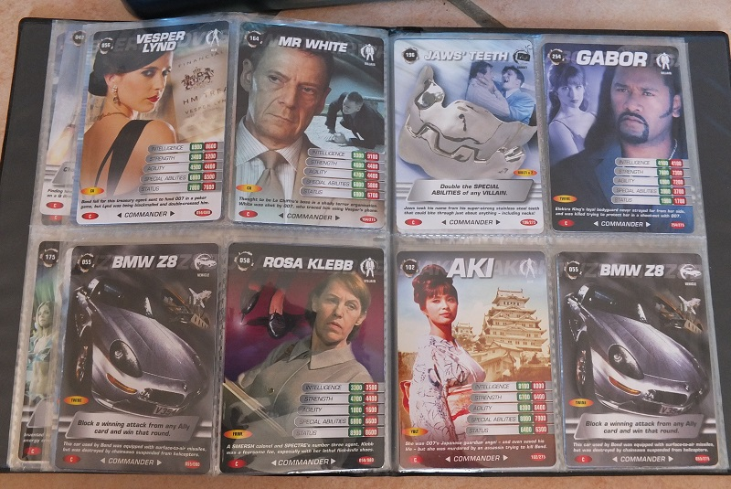 James Bond 007 Trading Card set - finally complete! James_17