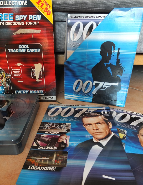 James Bond 007 Trading Card set - finally complete! James_18