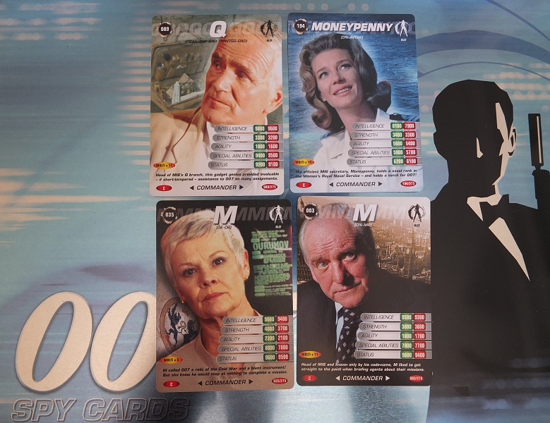 James Bond 007 Trading Card set - finally complete! James_19