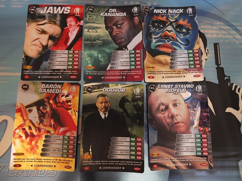 James Bond 007 Trading Card set - finally complete! James_21