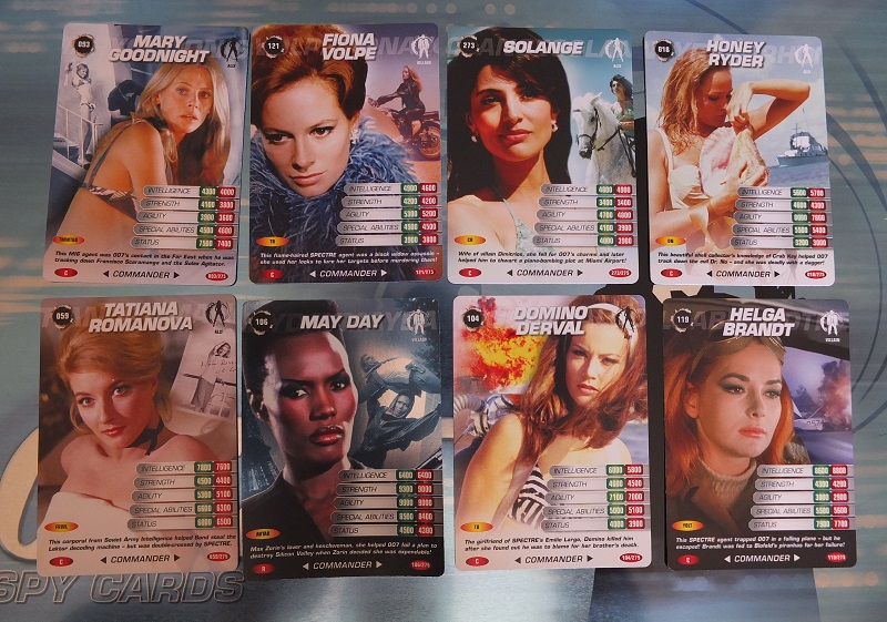 James Bond 007 Trading Card set - finally complete! James_22