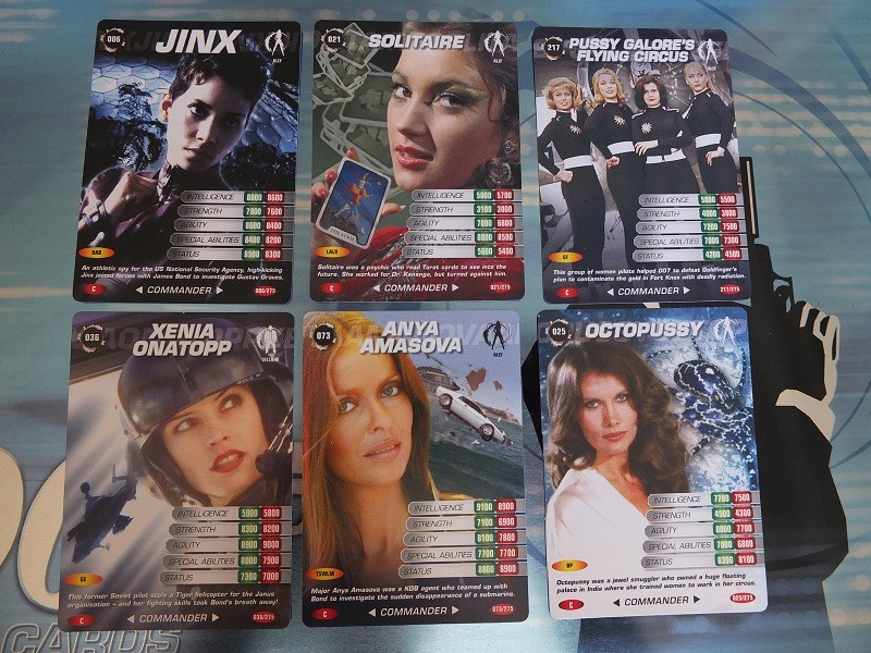 James Bond 007 Trading Card set - finally complete! James_23