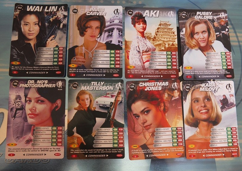 James Bond 007 Trading Card set - finally complete! James_25