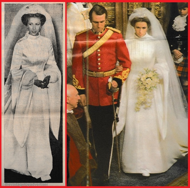 Was Princess Leia's white gown inspired by Princess Anne's 1973 wedding dress? Prince10