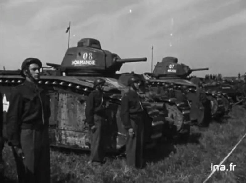 Char B1 Armée Française de 1944 Sans_t12